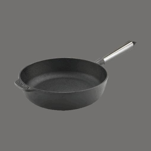 Sauterpande Støbejern 25 cm Stalskaft