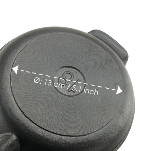 Stegepande Støbejern 18 cm