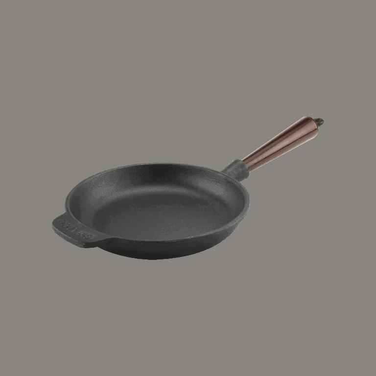 Carl Victor Gjutjärnspanna 18 cm Trähandtag