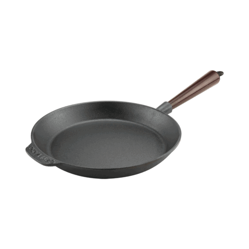 Stekpanna Gjutjärn 24 cm Trähandtag