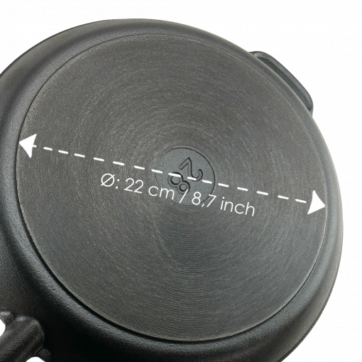 Gjutjärnspanna 28 cm