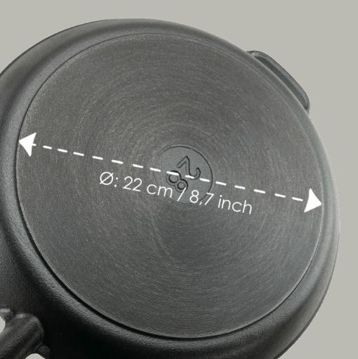 Stekpanna Gjutjärn 28 cm