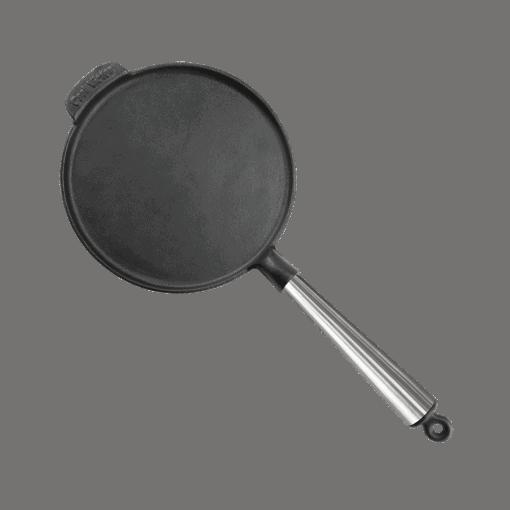 Pannkakslagg gjutjärn