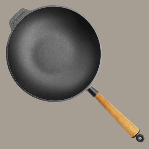 Wokpanna Gjutjärn 30 cm