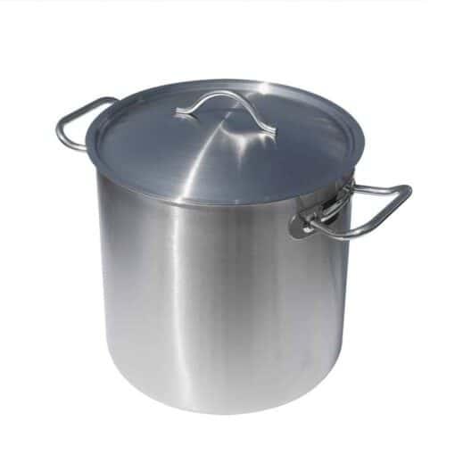 Rostfri Gryta 10 Liter med Lock