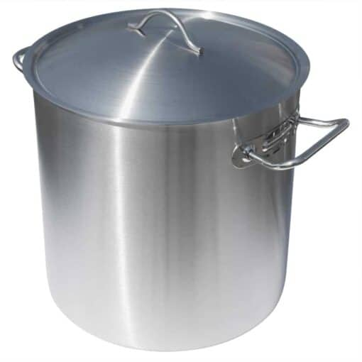 Rostfri Gryta 17 Liter med Lock