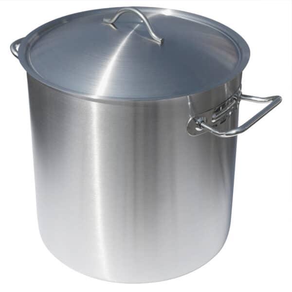 Rostfri Gryta 25 Liter med Lock