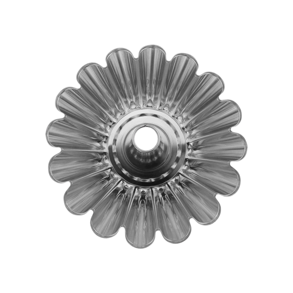 Sockerkaksform 23 cm Bleckplåt