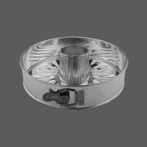 Springform 27 cm Utbytbara Bottnar 3,4L Bleckplåt