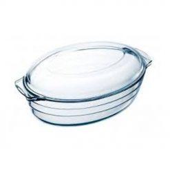 Pyrex Oval Glasgryta 3 Liter