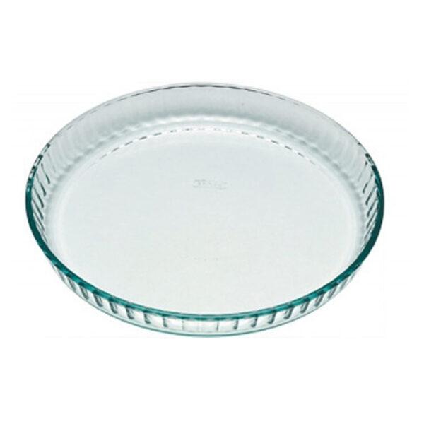 Pyrex Rund Pajform 28cm Glas