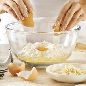 pyrex glasskål