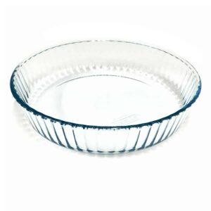 Pyrex Pajform 26 cm Glas Hög Kant