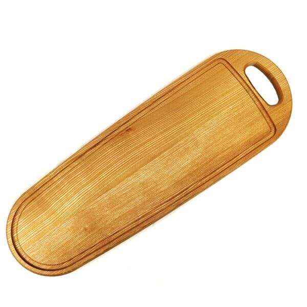 Træskærebræt Aske Aflang 60cm