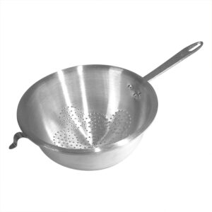 Durkslag 20 cm Aluminium Ett Handtag