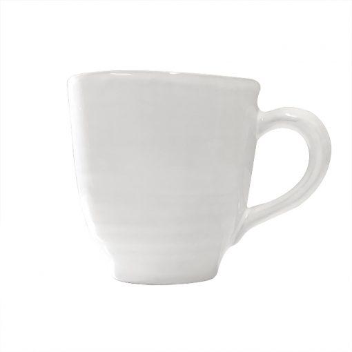 Keramik Mugg 50 cl Blank Vit