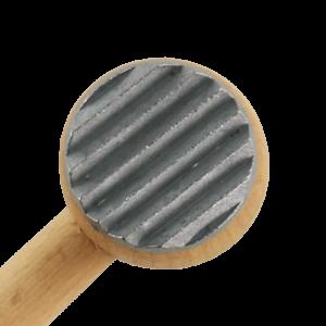 Kødhammer Træ 2stk Aluminiumsbeslag