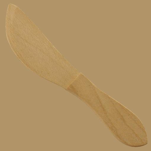 Ergonomisk Smörkniv Trä