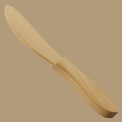 Smörkniv Trä Ergonomiskt Handtag