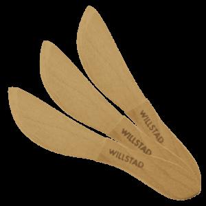Ergonomisk Smörkniv Trä 3-Pack