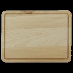 Träskärbräda med Ränna 31 cm