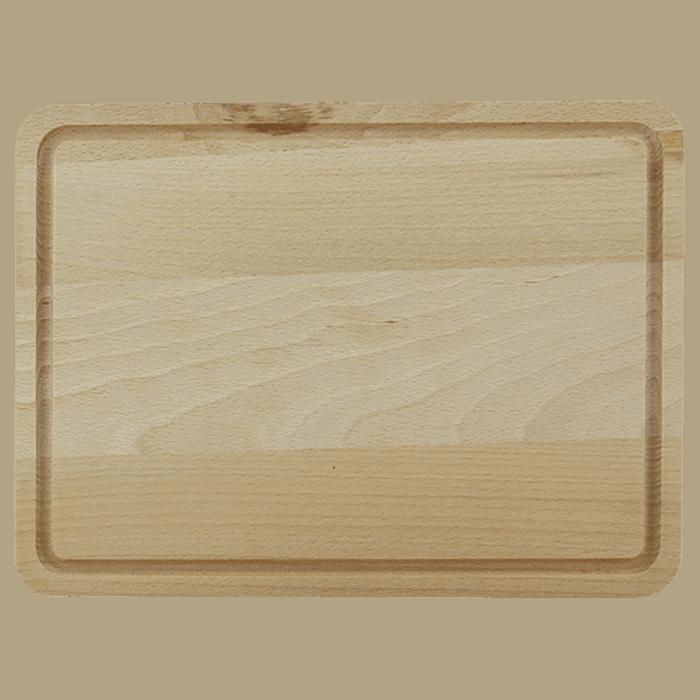 Træskærebræt med Rend 31cm