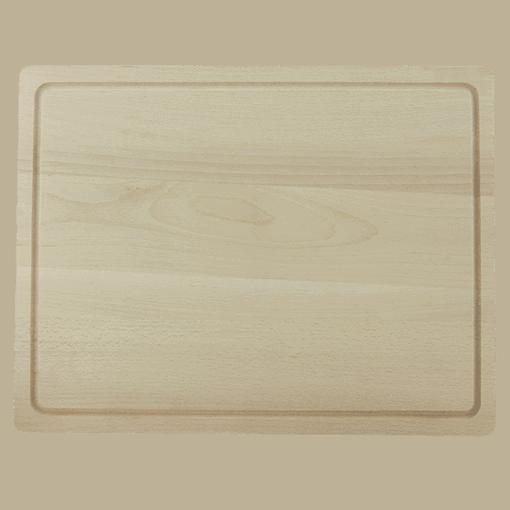 Träskärbräda med Ränna 45 cm