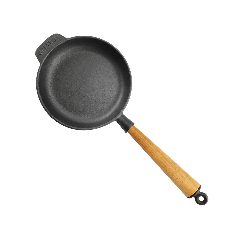 Gjutjärnspanna 18 cm