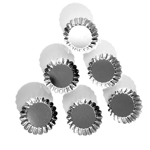 Mini Kakformar Bleckplåt 9 cm 6-Pack