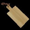 Ek Träskärbräda 28 cm med handtag - Träredskap