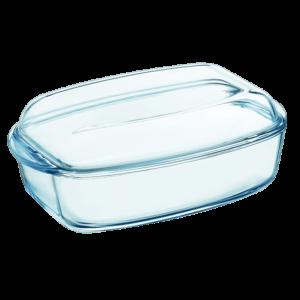Pyrex Rektangulær Stegeso Glas 6.5L