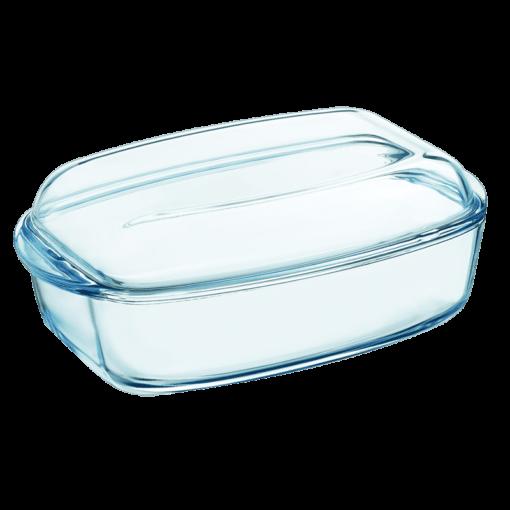 Pyrex Rektangulär Stekgryta Glas 6.5L