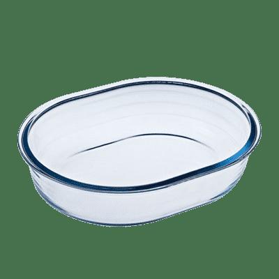 Pyrex Oval Ugnsform Glas 0.5 liter