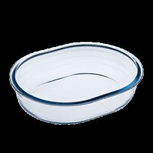 Pyrex Oval Ovnfast Form Glas 1.5liter
