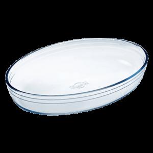 Pyrex Oval Ovnfast Form Glas 26cm