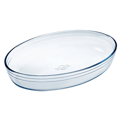 Pyrex Oval Ugnsform Glas 35cm