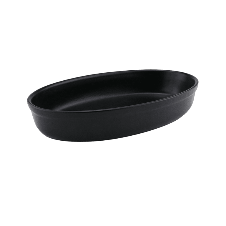 Oval Svart Ugnsform 31cm