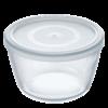 Pyrex Glasskål med Lock 1.7 Liter