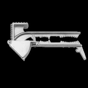 Stor Vitlökspress Aluminium